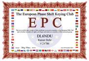 EPC Zertifikat DL 6 NDU