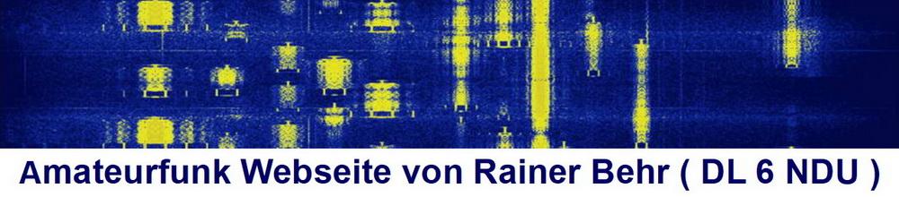 Webseite von Rainer Behr, DL 6 NDU